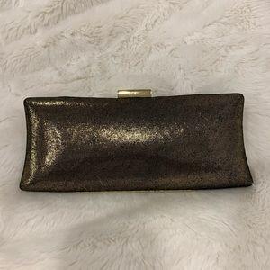 BCBG MAX AZRIA evening clutch with strap